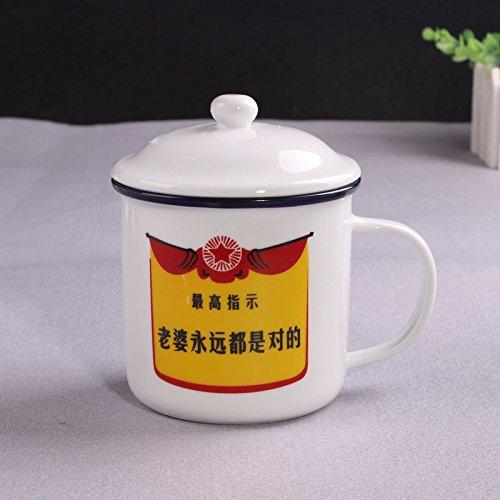 TIANLIANG04 Becher Kaffeetassen Keramik Schale Glas Emaille Tasse Geschenk Porzellanbecher Paar...