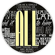 For Circle Tag Mdf Material Have The Bible Perfect Boy