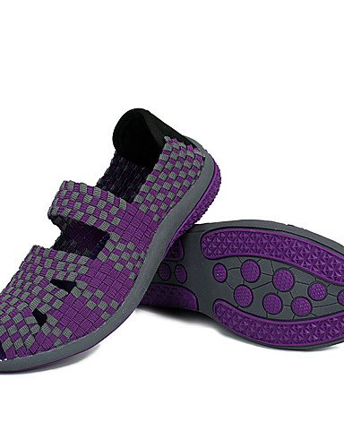 ZQ Scarpe Donna-Mocassini-Casual-Spuntate-Piatto-PU-Nero / Rosa / Viola , purple-us8.5 / eu39 / uk6.5 / cn40 , purple-us8.5 / eu39 / uk6.5 / cn40 purple-us5.5 / eu36 / uk3.5 / cn35