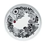 Marimekko Siirtolapuutarha Teller Ø 32 cm, schwarz/weiß