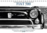 Fiat 500 - Details im Fokus - im Look eines legendären Analogfilms (Tischkalender 2018 DIN A5 quer): Details vom Fiat 5