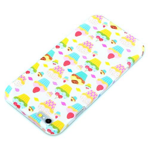 "deinPhone Apple iPhone 6 6S (4.7"") SILIKON CASE Hülle deinPhone Eule Bunte Cupcakes"