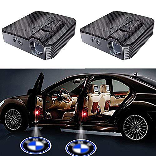 2 Pcs LED Einstiegsbeleuchtung,Autotür Logo Licht Willkommen Laser Projektor Logos Geist Schatten Licht Lampe für Auto Alle Modelle