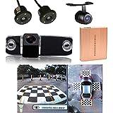 360 Grad Vogelschau Panorama System Car DVR 3D Rückfahrkamera Kamera front HD Einparking für Hyundai veracruz/...