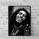 ZHAOLV Toile sans Cadre Bob Marley Poster Peinture À l'huile d'impression HD Wall Art Home Decor No Frame Suspendu Peintures ( Size (inch) : 35x50cm )