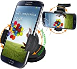 Original Hostey® In Car Holder /Windscreen Suction Mount for Samsung Galaxy S3 i9300 / S4 i9500 With 360° Degree Rotation Feature