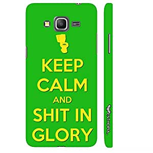 Samsung Galaxy Grand prime SHIT IN GLORY designer mobile hard shell case by Enthopia
