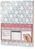 Mein Projektplaner / Planen, Umsetzen, Auswerten! / 122 Seiten, Register, Kontakte uvm. / PR201