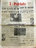 Telecharger Livres PATRIOTE LE No 2239 du 24 12 1951 VENUS DE TOUS LES COINS DE FRANCE SAMEDI ET DIMANCHE LES ASSISES NATIONALES DE LA PAIX LA GUERRE N EST PAS FATALE TOUS AU TRAVAIL POUR SAUVER LA PAIX A DECLARE M F JOLIO CURIE DANS SON DISCOURS D OUVERTURE LE GENERAL PETIT MIS A LA RETRAITE D OFFICE PAR M BIDAULT SES PROJETS FINANCIERS AYANT ETE DEMANTELES EN COMMISSION LE GOUVERNEMENT MET TOUT EN OEUVRE POUR EFFACER SES ECHECS PENDANT 3 JOURS LA GREVE A ETE TOTALE EN TUNISIE POUR LES AMERICAI (PDF,EPUB,MOBI) gratuits en Francaise