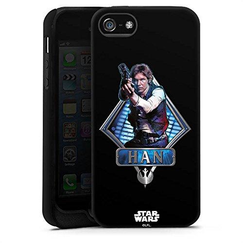 Apple iPhone X Silikon Hülle Case Schutzhülle Star Wars Han Solo Merchandise Tough Case matt