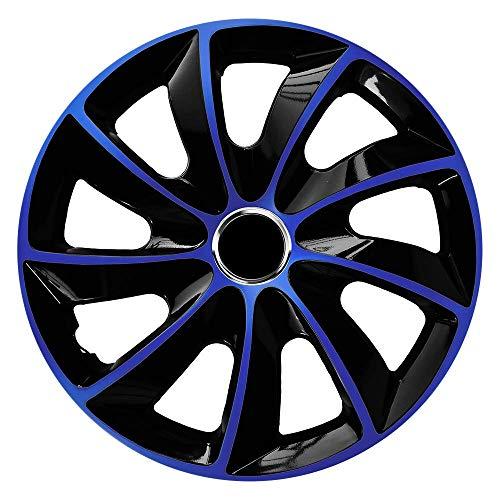 CM DESIGN STIG EXTRA Blau/Schwarz - 15 Zoll, passend für Fast alle VW z.B. für Polo 9N