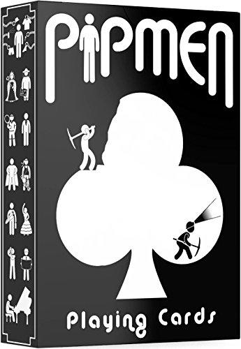 EINZIGARTIGE PIPMEN SPIELKARTEN, hochwertiges Kartendeck, toll als Zauberkarten & Pokerkarten, originelles Kartenspiel für Kinder & Erwachsene, Kartensatz in Standardgröße