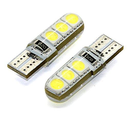 Preisvergleich Produktbild 1x LED LAMPE 6x5050 SMD XENON WEISS CANBUS T10 W2.1x9.5d 12V 1 STÜCK