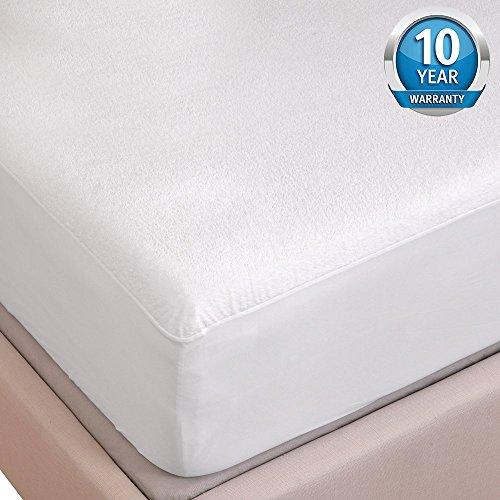 4537ca5bb9 Tofern Matratzenschutz Matratzenschoner Luxus 100% wasserdicht robust  Flanell raschelt Nicht für.