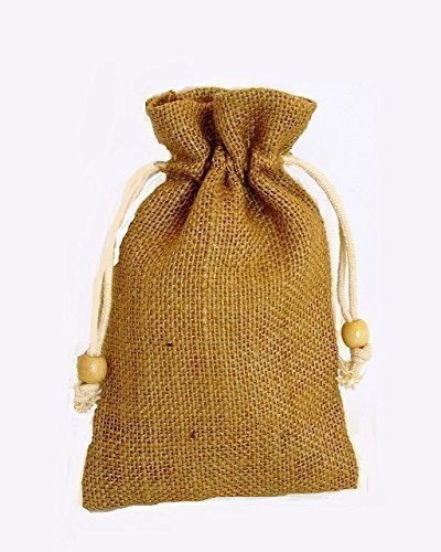 pack-of-4-x-small-plain-drawstring-jute-bags-23-in-natural-hessian-size-12cm-x-19cm