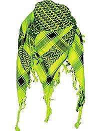Palästinenser Tuch Schal - Neon Grün Schwarz