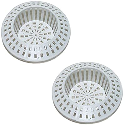 2 X Gastro Kunststoff Abflusssieb Haarsieb Splbecken Waschbecken Splbeckensieb Badewanne Duschwanne Ablaufsieb