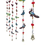 #6: Jaipuri haat Rajasthani Handcrafted Peacock Door Hanging Home Decor- Set of 2 ...