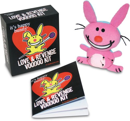 Love & Revenge Voodoo Kit [With Happy Bunny Voodoo DollWith Pushpins] (It's Happy Bunny)