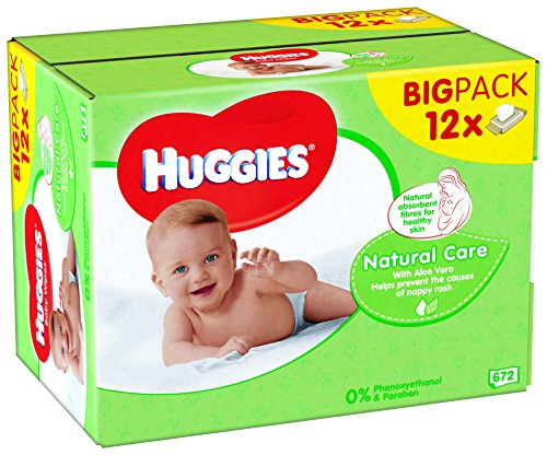 Huggies Natural Care Baby Wipes 51KJ5UV8KfL