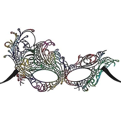 Amcool Frauen-Spitze-Augenmaske Catwoman -