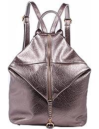 WTUS Mujer Bolsos de cuero de Pu de hombros el viento nuevo estilo minimalista de 2017 la mochila para Mujer