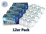 RAVIDOX Wasserfilter für Bita Maxtra, Brita Maveda, BOSCH TASSIMO, LAICA Bi-Flux, Dafi Unimax, AQUAPHOR MAXFOR, Amazon Basics, BPAfrei mit Nahrungsmittel-Zertifizierung. Versch. Packungen (12)