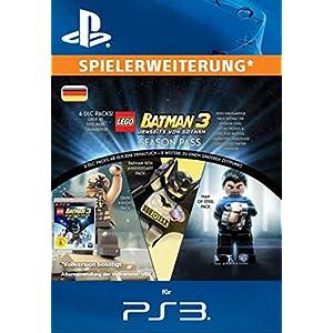 LEGO Batman 3 – Jenseits von Gotham Season Pass [PS3 PSN Code für deutsches Konto]