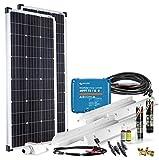Offgridtec mPremium+ L 200W 12V MPPT Caravan Solarset mit Victron SmartSolar 75/15