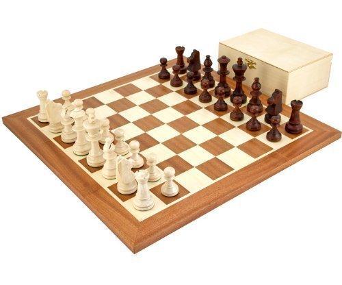 The Regency Chess Company Européen Classique Compétition Set D'échecs