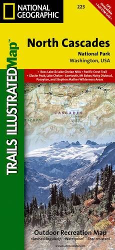 North Cascades National Park (National Geographic Trails Illustrated Map) por National Geographic Maps - Trails Illust