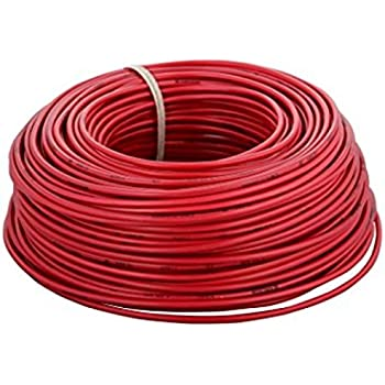 V-Guard PVC Cable 2.5 Sq mm x 90 mtr Coil (Red)