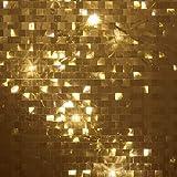 10 Lichteffekt-Folien | Zum Basteln & Dekorieren mit Lichterketten, LED-Lichtern | DIY Laternen & Windlichter | Basteln für Advent & Weihnachten (Mosaik, DIN A5)