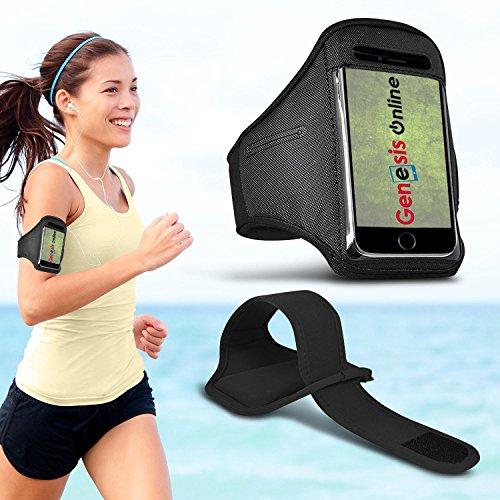 Fonetic Solutions Armband für Samsung Galaxy A6 (2018), speziell für Innen- und Außensport, verstellbar, Fitnessstudio, Zumba Laufen, Joggen, Radfahren, Reiten, Fitnessstudio, Sportarmband (Zumba-armband)