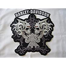 –Parche para planchar Harley Davidson aprox. 9x 9cm moto motocicleta Club