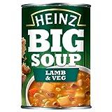 Heinz Agnello E Verdure Grande Zuppa 400g (Confezione da 6)