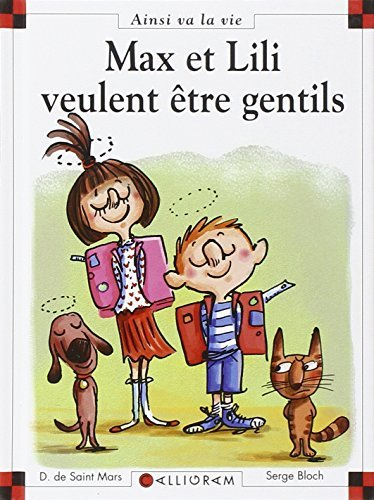 Max et Lili veulent ?tre gentils 98 by Dominique De Saint Mars (November 14,2011)
