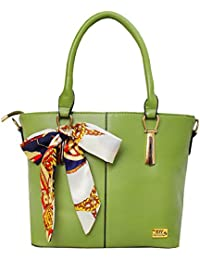 I Define You Latest Trend Green Color Party Wear Handbag & Sling Bag For Girls And Women