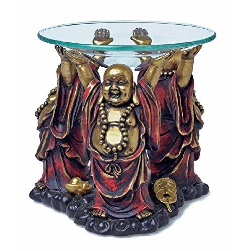 Duftlampe Aromalampe Buddha Glücksbuddha Indien Tibet Nepal Raumduft Dekoration Innere Mitte