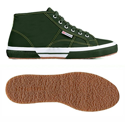 Superga 2754-Plusnylu, Chaussures de Gymnastique Mixte Adulte Forest
