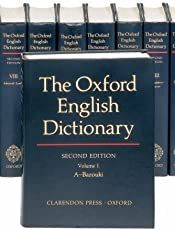 The Oxford English Dictionary (Oxford English Dictionary (20 Vols.))