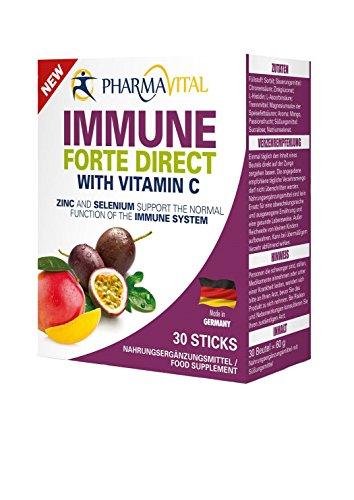ForteVital® / PharmaVital Immun Forte Direkt Immunkur für Ihre Gesundheit. Ideal zur Unterstützung bei Grippe, Husten und Erkältung. Für mehr Vitalität und eine Unterstützung des Immunsystems.