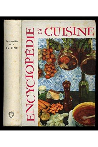 Encyclopédie de la grande ou de la petite cuisine 1959