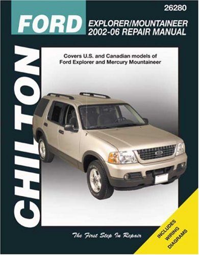 Chilton Repair Manual Ford Explorer & Mercury Mountaineer (Ford Explorer Manuale)