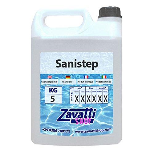 Desinfektion Antipilzmittel Produkt Sanistep - 5 Lt