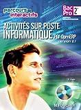 Image de Activités sur poste informatique PGI open ERP version 6.1 Sde B.Pro: Avec CD-ROM élève intégré