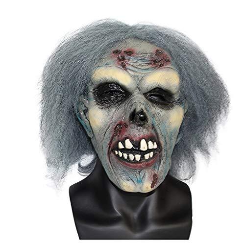 ma Tanzparty Horror Latex Maske Scary Zombie Dekoration Requisiten Bühnenkostüm ()