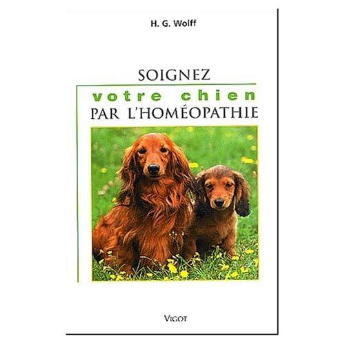 Soignez votre chien par l'homéopathie
