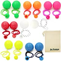 Pair of Play Contact Poi 80mm (Choice of colours) with Jac Products Bag Bundle - 2 Items