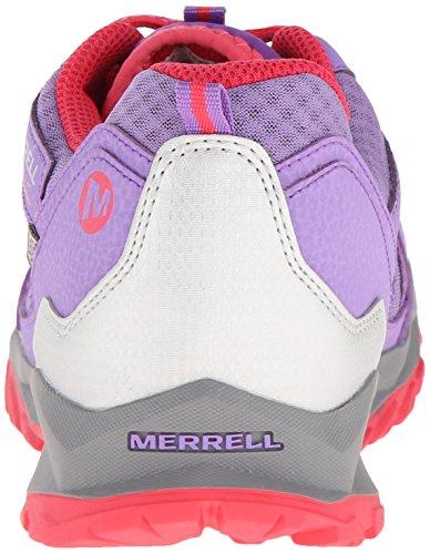 Merrell Mädchen Capra Bolt Low Lace Waterproof Trekking-& Wanderhalbschuhe Mehrfarbig (PURPLE)